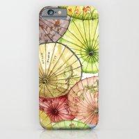 Paper Umbrellas iPhone 6 Slim Case
