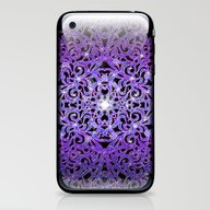 Floral Abstract Backgrou… iPhone & iPod Skin