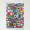 I LOVE U! Stationery Cards