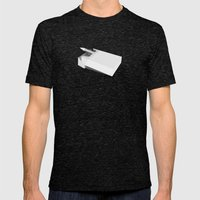 Addiction 1 Mens Fitted Tee Tri-Black SMALL