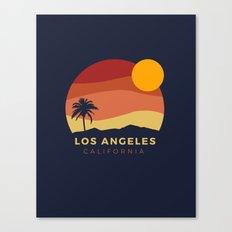 Los Angeles Sunset Canvas Print