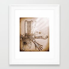THE MUSIC MACHINE Framed Art Print