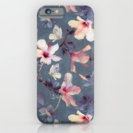 Butterflies And Hibiscus… iPhone 6 Slim Case