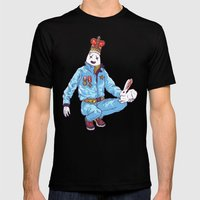 Egghead Mens Fitted Tee Black SMALL