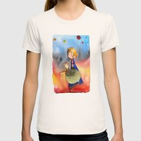Little Prince Womens Fitted Tee Natural SMALL