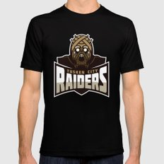 Tusken City Raiders - Tan SMALL Black Mens Fitted Tee