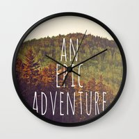 An Epic Adventure Wall Clock