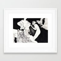 HYDE LOVE Framed Art Print