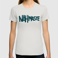 Nahmaste Womens Fitted Tee Silver SMALL