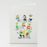 Bikers. Stationery Cards