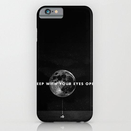 Sleep With Your Eyes Open iPhone & iPod Case