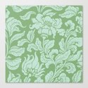 neo ethnic emerald Canvas Print