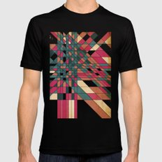 kriskras SMALL Black Mens Fitted Tee