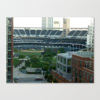 Petco Park Field Canvas Print