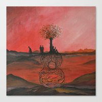 Track 3: Songs From The … Canvas Print
