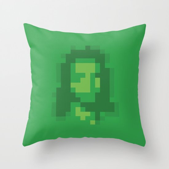 Mosaic Messiah ( Jesus ) Throw Pillow