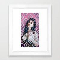 Transparent Design  Framed Art Print