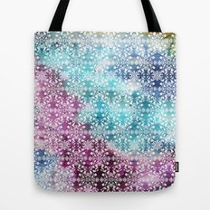 Motif Pattern_rainbow Tote Bag