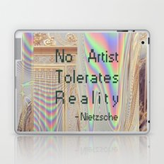 Nietzsche quote Laptop & iPad Skin