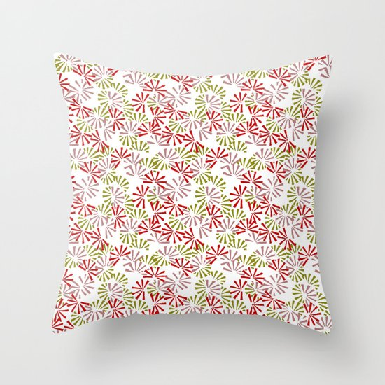 Cinnamon Bonsai Throw Pillow