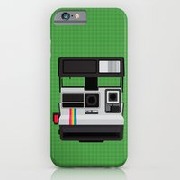 iPhone & iPod Case featuring Polaroid Supercolor 635CL by mydeardear