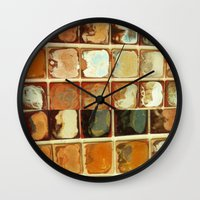 Earthwares Wall Clock