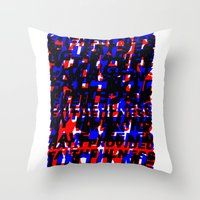 GREAT IS THY FAITHFULNESS - ABSTRACT (Old Hymn) Throw Pillow