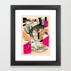 GIANTS! Deer Framed Art Print