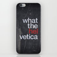 Hel Vetica iPhone & iPod Skin