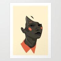 Face off 1 Art Print