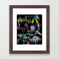 Cooperative Chaos Framed Art Print