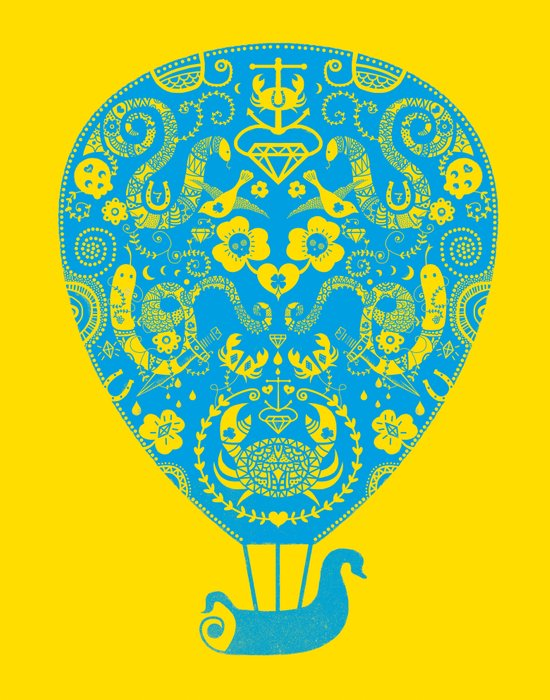 Lucky ride Art Print