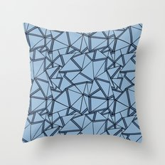 Ab 2 Blues Throw Pillow