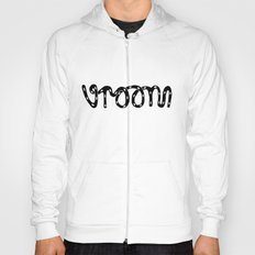 VROOM - handlettering - this is what a VW Beetle would say. I think. Hoody