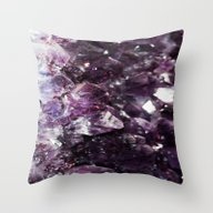 Throw Pillow featuring Amethyst  by AlPh