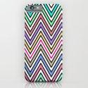 Bright Ethnic Aztec Native Chevron Pattern iPhone & iPod Case