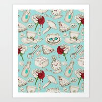 Wear To Wonderland – S… Art Print