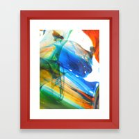 Laminar Flow Framed Art Print