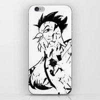 Man Eating Chicken 003 iPhone & iPod Skin