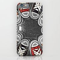 iPhone & iPod Case featuring Chuck Yeah!  by MistyAnn