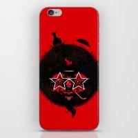 THE BLACK SUN iPhone & iPod Skin