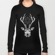 Long Sleeve T-shirt featuring Stag by Andy Christofi