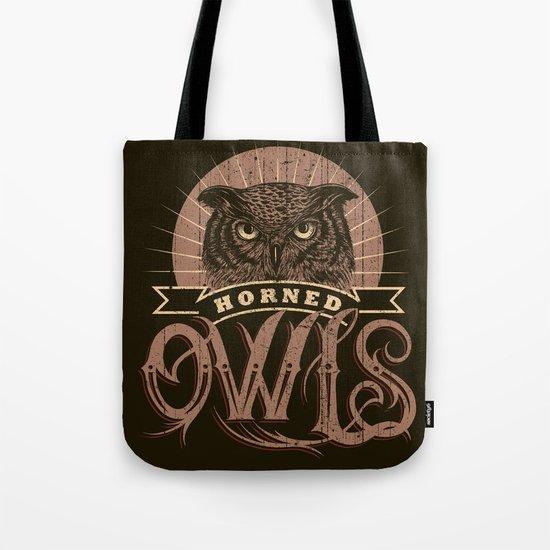 Team Owl Tote Bag