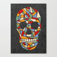 Shattered Daydream Canvas Print