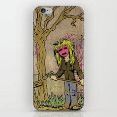Little Grave Digger Girl iPhone & iPod Skin