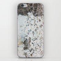 Peeling white wall iPhone & iPod Skin