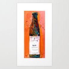 Maine Lunch IPA beer bottle Art Print