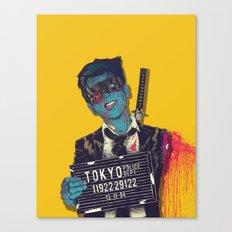 Crazy 88 Canvas Print