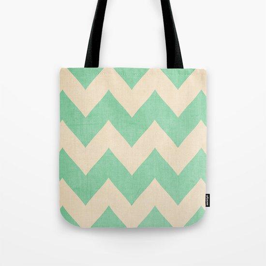 Malibu - Chevron Tote Bag