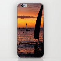 Borocay Sunset Philippines iPhone & iPod Skin